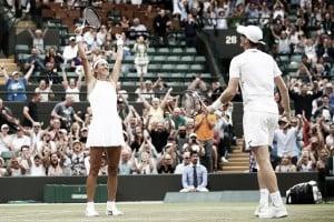 Wimbledon: Azarenka/Murray ease their way past Dart/Clarke to book their spot in the final