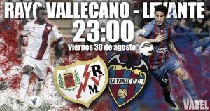 Rayo Vallecano - Levante: en busca de sensaciones pasadas