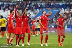 """Inglaterra vence Suécia e segue para as """"meias"""""""