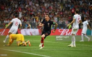 Croatia 2-1 England (AET):Mario Mandžukić breaks hearts of Three Lions
