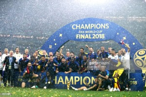 France 4-2 Croatia: Les Bleus triumph in high scoring final to claim second World Cup