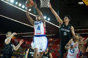 La República Dominicana, con algún susto, derrota a Nueva Zelanda
