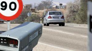 Arranca una campaña especial de control de velocidad de la DGT