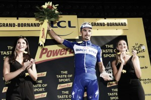 Tour de Francia, etapa 10: Julian Alaphilippe da una clase magistral en los Alpes