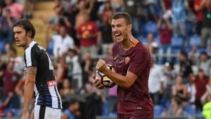 Roma formato Europa: 4 gol all'Udinese con forza e controllo