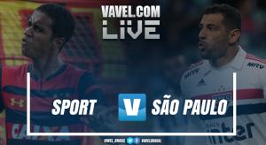 Resultado de Sport x São Paulo pelo Campeonato Brasileiro 2018 (1-3)