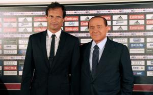 Allegri And Berlusconi - The Battle Plan