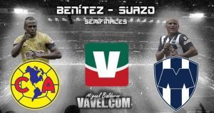 Marcaje personal: Humberto Suazo - Christian Benítez