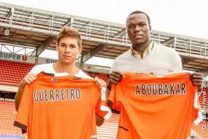 Aboubakar et Guerreiro, nouvelles recrues du FC Lorient