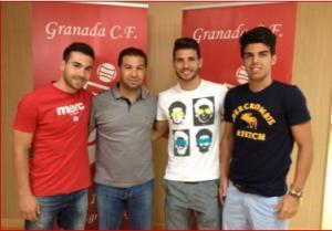 Adolfo, Sergio Martín y Álex Carmona renuevan con el Granada CF 'B'