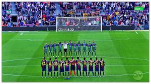 Départ du FC Barcelone en Liga contre Levante