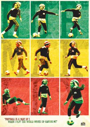Vivir por el reggae, morir por el fútbol