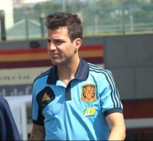 Fàbregas no participará en el amistoso contra China