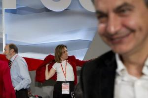 Carme Chacón entre el PSC y el PSOE