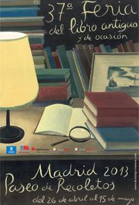 37ª Feria del Libro Antiguo en Madrid