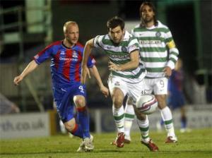 Comfortable Celtic take the three points at the Tulloch Stadium. How we lived it