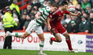 Celtic narrowly beat Aberdeen thanks to Langfield's mistake. How we lived it