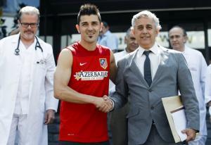 """Villa: """"Tengo ganas de ponerme bajo las órdenes de Simeone"""""""