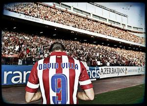 David Villa à l'Atlético Madrid