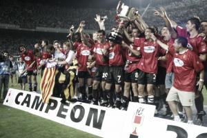 El Mallorca conmemora el décimo aniversario de la Copa del Rey