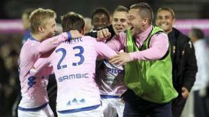 Evian sort la tête de l'eau et sauve sa peau face à Valenciennes !