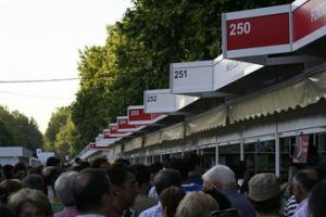 La Feria del libro abre su primer fin de semana con buena letra