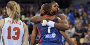La France toujours invaincue dans la compétition