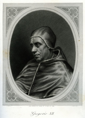 La histórica renuncia papal