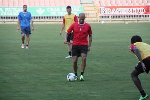 Primeros entrenamientos con Murillo y Yebda