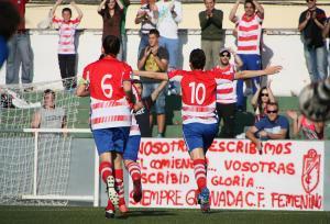 El Granada CF Femenino sigue soñando tras superar a un combativo CD Charco del Pino