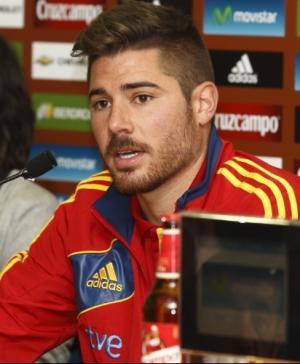"""Javi García: """"Sería mucho más fácil buscarse un hueco en la Selección si jugase en España"""""""