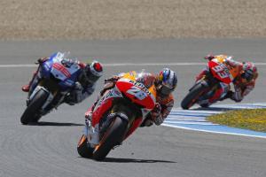 Pedrosa vuelve a lo más alto en Jerez por delante de Márquez y Lorenzo