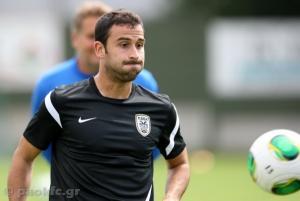 El ex rojiblanco Íñigo López debutó con el PAOK empatando sin goles contra el Anzhi ruso
