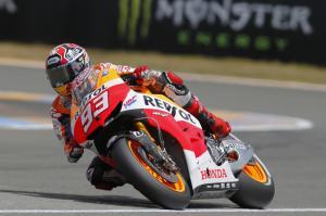 Márquez consigue en Le Mans su segunda pole de la temporada