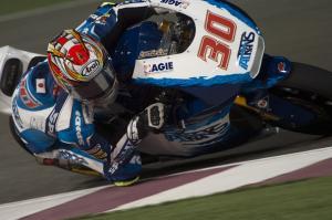 Nakagami encabeza la primera jornada de Moto2 en Losail
