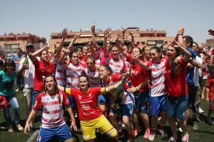 Granada CF Femenino – Oviedo Moderno: fotogalería de un ascenso