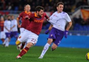 Fiorentina-Roma 0-1, Osvaldo beffa i viola nel finale