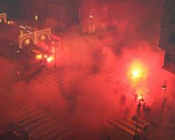 Archivada la pelea entre aficionados del Sporting y del Sevilla en 2009