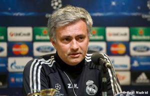 """Mourinho: """"Jugamos contra un equipo con una identidad de juego propia, no será fácil"""""""