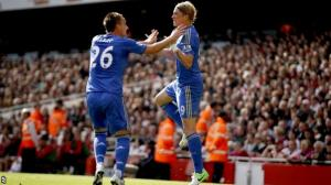 Chelsea beat Arsenal at the Emirates