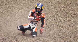 Bruttissima caduta per Pedrosa al Sachsenring