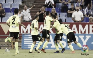 Real Zaragoza - Córdoba CF: puntuaciones del Córdoba CF, jornada 8 de Segunda División
