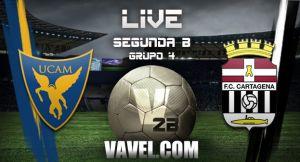 UCAM Murcia - Cartagena en directo online