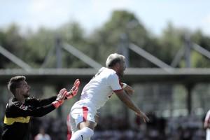 La SD Eibar no pudo contra el Stuttgart