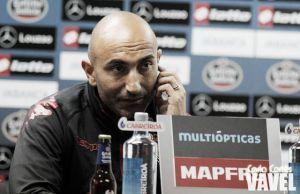 """Abelardo: """"Pelearemos por quedar lo más arriba posible"""""""