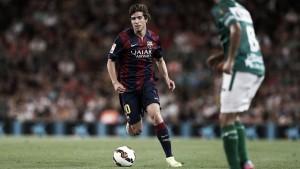 FC Barcelona midfielder Sergi Roberto picks up ankle injury