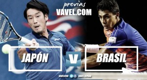 Copa Davis 2017. Previa Japón - Brasil: a por el Grupo Mundial