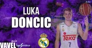 Luka Doncic Guía Real Madrid Baloncesto