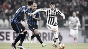 Juventus Vs Inter in Serie A 2015/2016 (2-0): Inter piegata dai gol di Bonucci e Morata