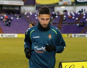"""Omar: """"Siempre he estado centrado en estar en el Real Valladolid"""""""